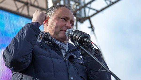 Игорь Додон. Архивное фото