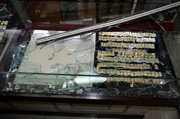 ВКиеве среди бела дня ограбили ювелирный магазин