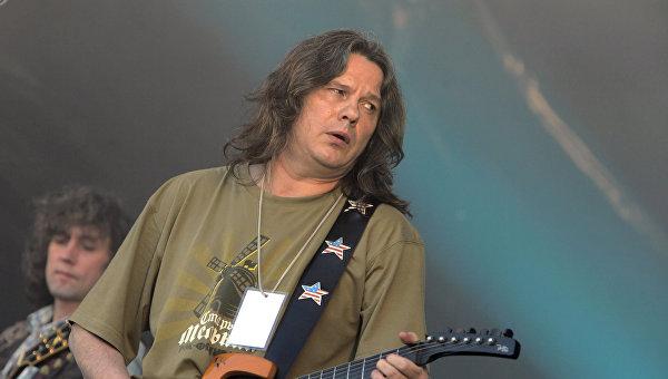 Лидер рок-группы «Чиж» Чиграков госпитализирован вПетербурге