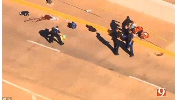 ВОклахоме в итоге стрельбы ваэропорту ранен человек