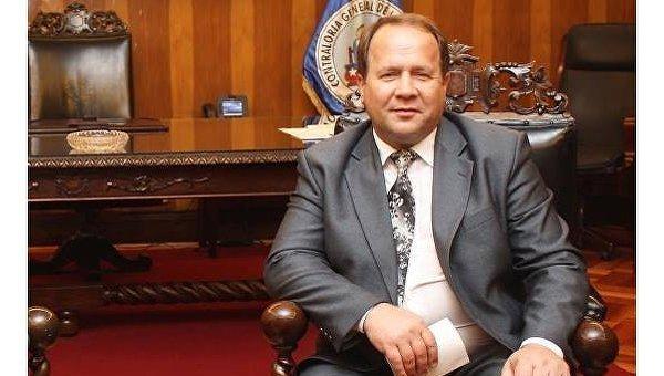 Глава Счетной Палаты Украины Роман Магута