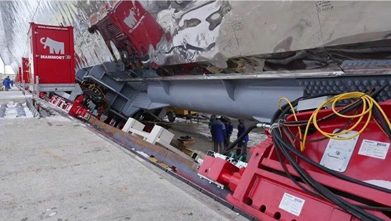 НаЧернобыльской АЭС начался процесс установки нового саркофага