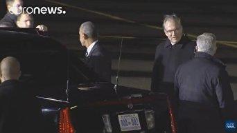 Президент США прибыл с прощальным визитом в Германию