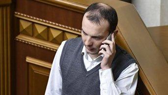 Народный депутат Егор Соболев. Архвное фото
