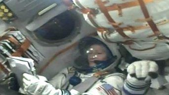 Старт корабля Союз к МКС