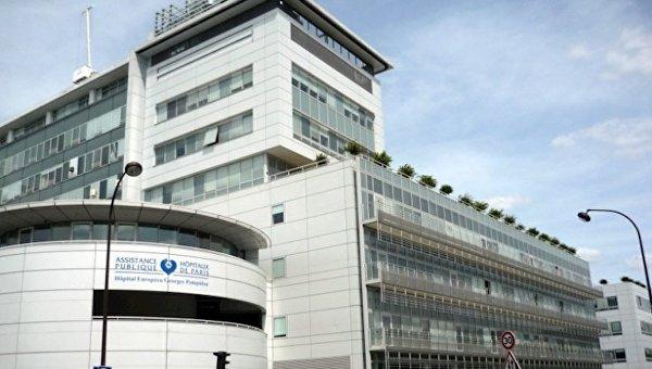 Госпиталь Жоржа Помпиду встолице франции эвакуирован из-за угрозы взрыва
