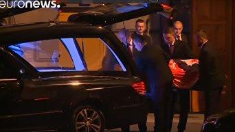 В Польше останки президента Леха Качиньского повторно захоронены после эксгумации