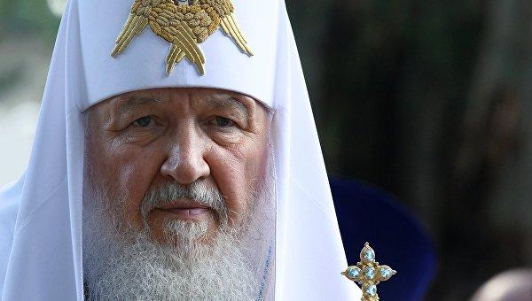 Патриарх Московский ивсея Руси Кирилл отмечает юбилей