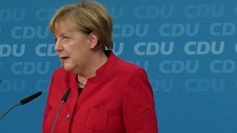 Заявление Меркель о выдвижении в канцлеры на четвертый срок