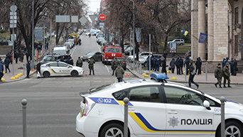 Центр Киева под усиленной охраной правоохранителей. Архивное фото