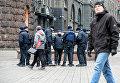 Усиленная охрана правоохранителей. Архивное фото