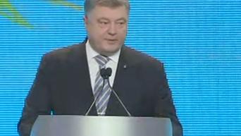 Порошенко: я не уступил давлению и не пошел на введение военного положения. Видео
