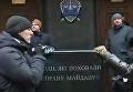 Памятник убийцам дела Майдана под ГПУ