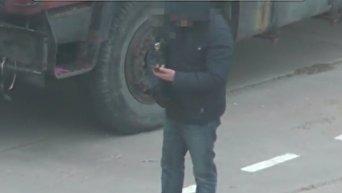СБУ обнародовала видео задержания на границе с Крымом российских военных