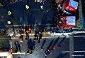 Столкновение нескольких десятков автомобилей в Китае