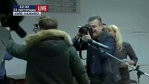Напресс-конференции Тимошенко уполномоченный СМИ устроил скандал
