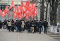 Митинг социалистов под Кабмином. Архивное фото