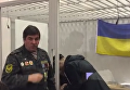 Появилось видео прикованного наручниками к Заверухе нардепа