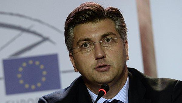 Премьер-министр Республики Хорватия Андрей Пленкович