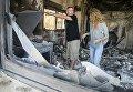 Масштабный пожар в крупной израильском городе Зихрон-Яаков, жителей эвакуировали.