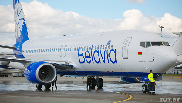 Авиакомпания Белавиа. Архивное фото