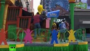 В Нью-Йорке прошел парад в честь Дня Благодарения. Видео