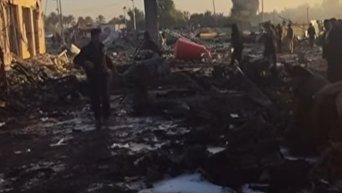 Около 100 человек погибли в результате теракта в Ираке. Видео