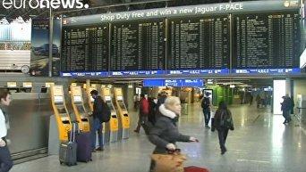 Lufthansa продлевает забастовку до вечера пятницы. Видео