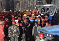 Спасатели на месте обрушения электростанции в КНР: более 70 погибших. Видео