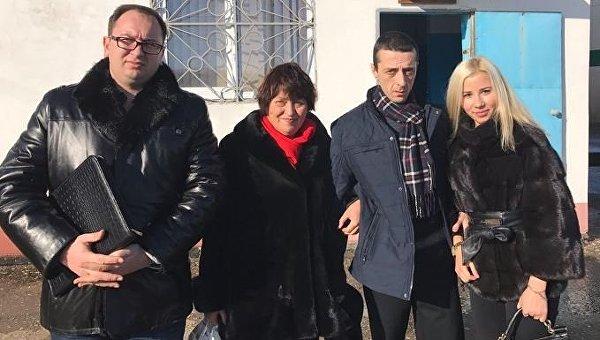 Хайсер Джемилев на свободе