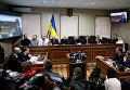Судебный процесс по делу бывший сотрудников Беркута, обвиняемых в расстрелах на Евромайдане. Архивное фото