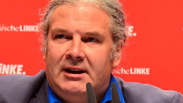 Депутат фракции Левой партии в Бундестаге Андрей Хунко