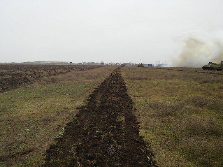Под Херсоном саперы готовились ставить противотанковые минные поля
