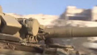 Ожесточенные бои в восточной части Алеппо. Видео