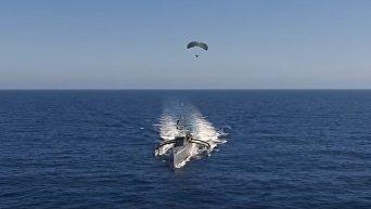 DARPA опубликовала новые кадры испытаний дрона Морской охотник. Видео