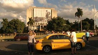В Гаване начинается церемония прощания с Кастро. Видео