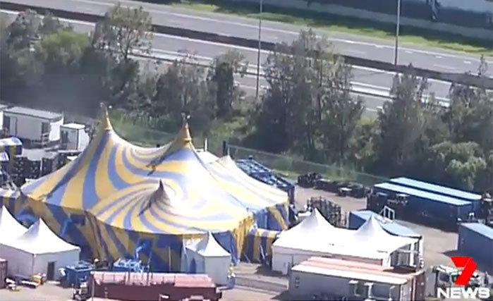 Гимнастка цирка вАвстралии упала свысоты 5 метров
