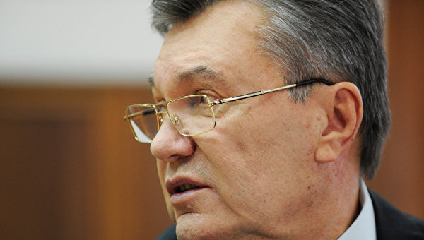 Виктор Янукович в Ростовском областном суде