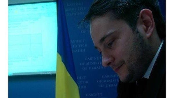 Замминистра юстиции Украины Сергей Петухов