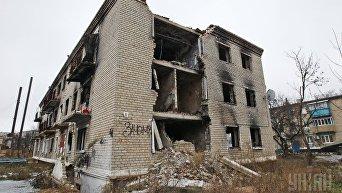 Зона АТО. Жизнь на линии огня в Марьинке