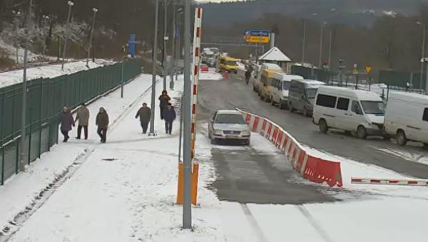 Ситуация на украинско-польской границе