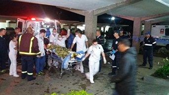 Крушение самолета с футболистами в Колумбии
