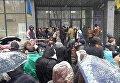Митинг с требованием отменить запрет алкоголя в МАФах