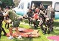 Пострадавших телохранителей доставили в больницу