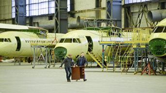 Самолеты на территории ГП Антонов