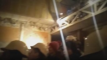 Театр на Андреевском спуске в Киеве изнутри