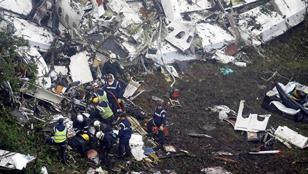 Разбившийся самолет сфутболистами «Шапекоэнсе» превышал собственный максимально допустимый вес