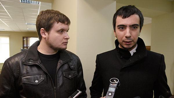 Пранкеры Алексей Столяров (Лексус) и Вован (Владимир Кузнецов)