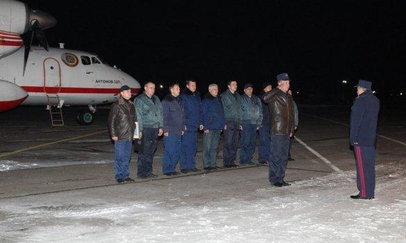 Вукраинскую столицу изИзраиля вернулись пожарные самолеты