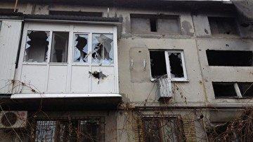 Полиция заявила об обстреле Марьинки